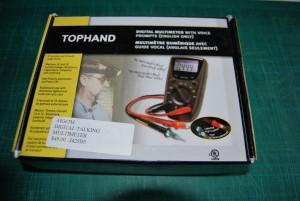 Photo of talking meter box