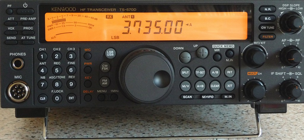 Kenwood TS-570 Accessibility Review   Active Elements