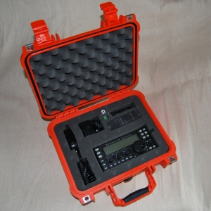 Photo of KX3 in its Pelican case